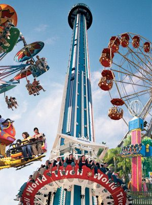 < TIVOLI GARDENS > Tivoli Gardens (or simply Tivoli) is a famous amusement park and pleasure garden in Copenhagen, Denmark. The park opened on August 15, 1843 and is the second oldest amusement park in the world.