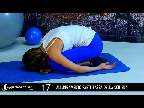 Stretching Schiena - YouTube