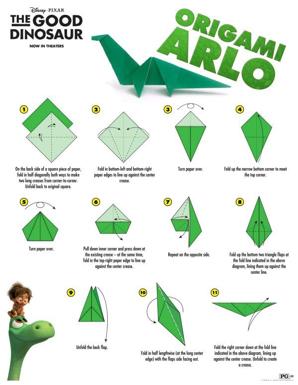 Click HERE to download the 2 page instructions. Disney The Good Dinosaur is in t…