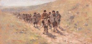 Scenă din războiul de independență (În recunoștere la Calisovo) Nicolae Grigorescu
