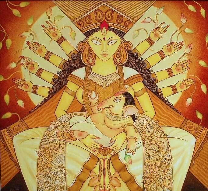 Painting by Kashinath Das