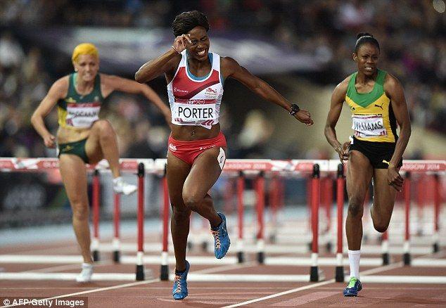 Tiffany PORTER [Silver], [Women's 100m hurdles]  England