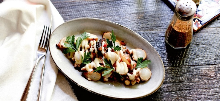 Octopus with chickpeas _ Ombra  themelbournemag.com