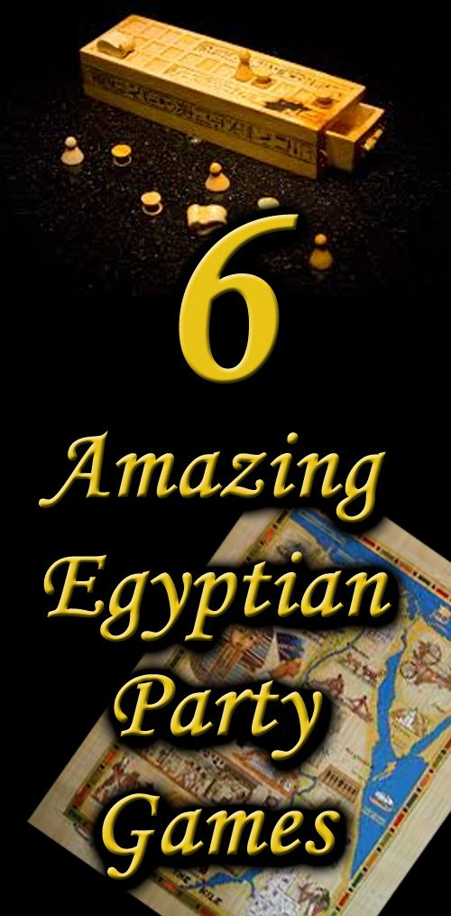 6 Unique Egyptian theme party games for all ages - something that will keep with the adventure of theme