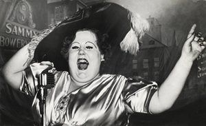Norma Devine as Mae West at Sammy's in 1944. Weegee