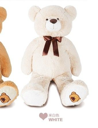 the lovely bear toy plushed toy cute bow stuffed teddy bear birthday gift about 70cm white //Price: $US $26.99 & FREE Shipping //     #toyz24