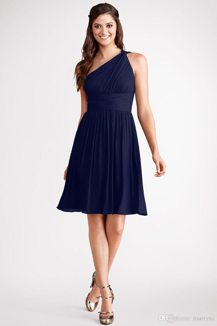 Wholesale bridesmaid dress buy princess navy blue one for Navy blue dresses for wedding