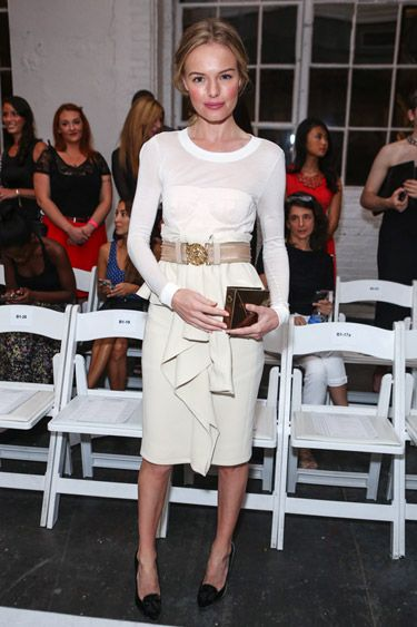 NYFW Edition: Kate Bosworth in Altuzarra at the Altuzarra Spring 2013 Front Row: Fashionweek, New York Cities, Fashion Week, Kate Bosworth, Iron Man, Dresses, Looks Book, Grace Kelly, Photo Galleries