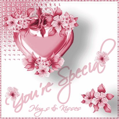 You're Special Hugs & Kisses friendship quote hello friend friendship quote…