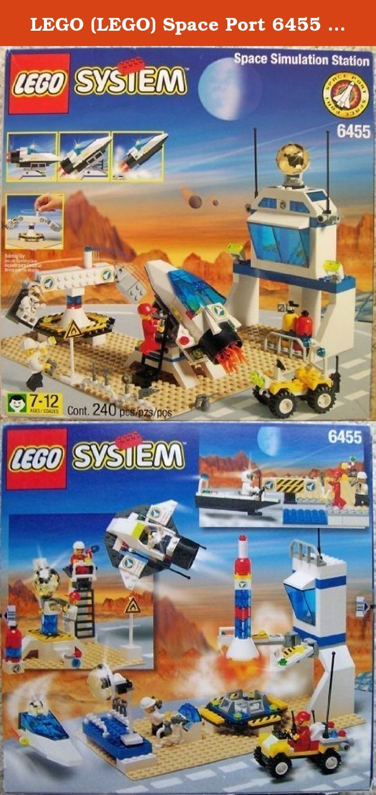 LEGO (LEGO) Space Port 6455 Space Simulation Station block toys (parallel import). It's shipped off from Japan.