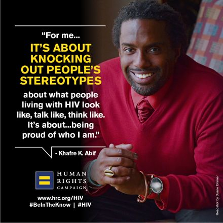 Telling the Stories of People Living with HIV: Khafre Abif http://www.hrc.org/blog/entry/telling-the-stories-of-people-living-with-hiv-khafre-abif  #HIV #QOTD