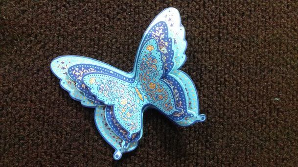 Blue Butterfly Trio