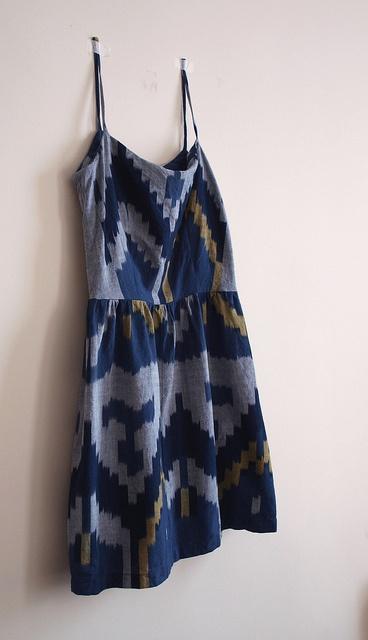 Ikat Dress by sacaton june