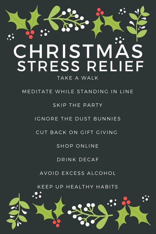 How To Manage Stress This Christmas Holiday