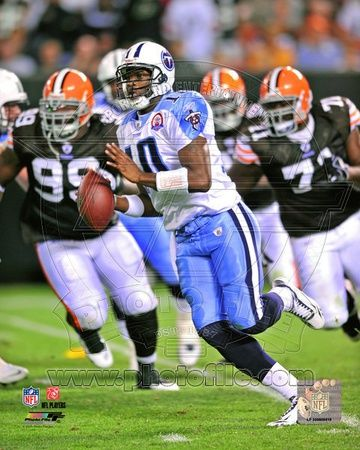 Tennessee Titans - Vince Young Photo
