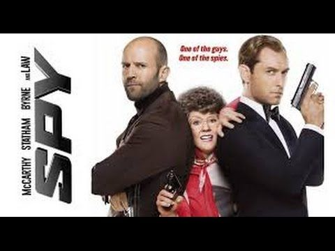 Melissa McCarthy & Jason Statham full movies (S.P.Y 2015) Comedy Action