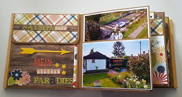 Everyday Life Small Photo Album created by crafter Angela Moeckel using #SimpleStories #BloomandGrow #PaperCollection #Gardening #Flowers #PhotoAlbums #PaperPhenomenon
