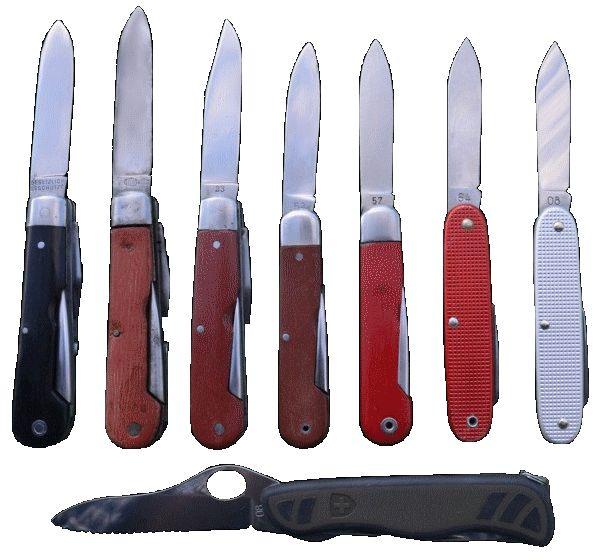 Couteaux militaires suisses