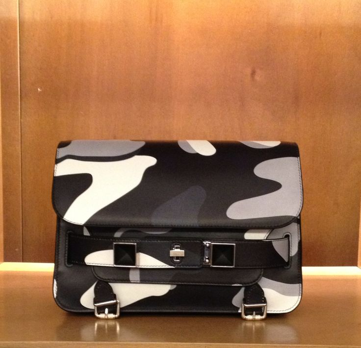 Proenza Schouler #mini #ps11 #camouflage #FallWinter #collection