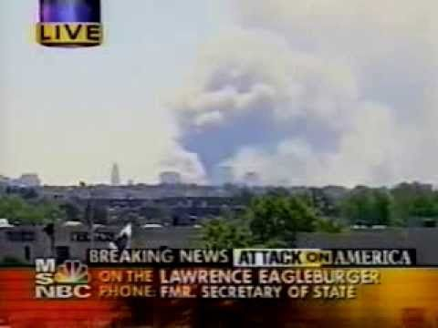 MSNBC Live Coverage of September 11,  2001 (Part 2 of 2)