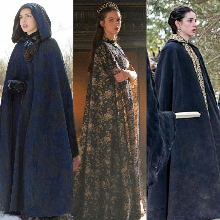 more of Mary's capes on Reign season 2