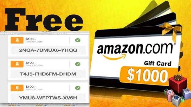 amazon codes – free amazon gift cards – free amazo…
