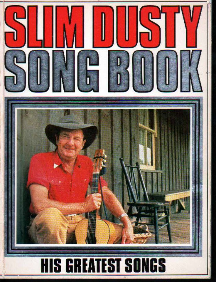 Image from http://www.franklycollectible.com/images/slim%20dusty%20songbook.JPG.