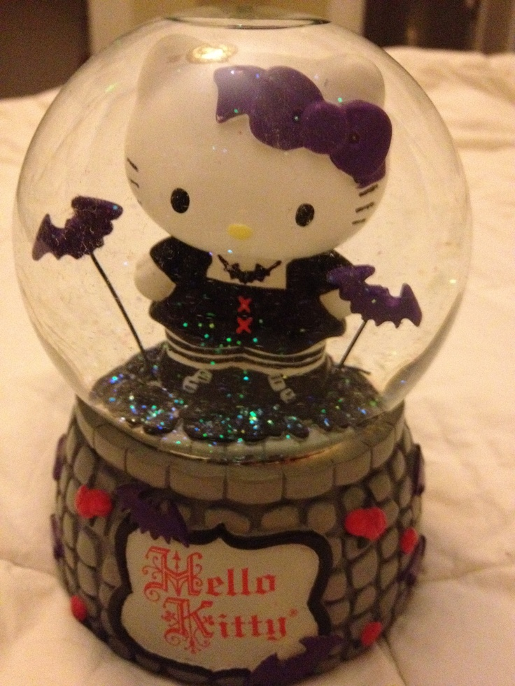 Hello Kitty Gothic Snowglobe - I used to have this & had to sell it to pay rent. Wish I still had it!