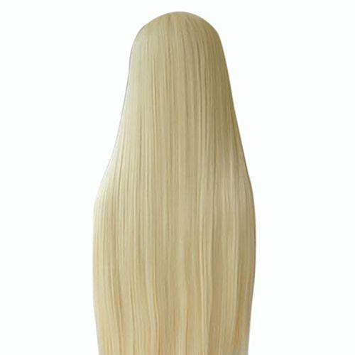 Pas cher De femmes Longue Ligne Droite Pleine Perruque Cheveux Blonds Synthétique Sans Frange Cosplay Partie, Acheter  Perruques de qualité directement des fournisseurs de Chine:De femmes Longue Ligne Droite Pleine Perruque Cheveux Blonds Synthétique Sans Frange Cosplay Partie