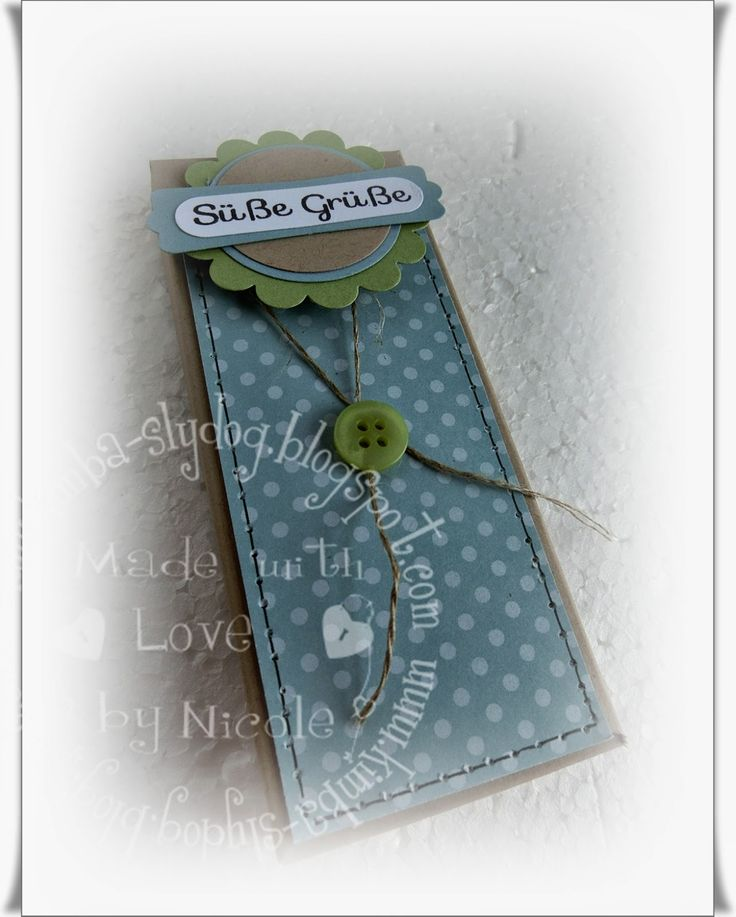 Tutorial: Pick-Up- Geschenkschachtel mit Envelope Punchboard ( 28.Juli 2014) | Kimba-Slydog's Creativ-Blog