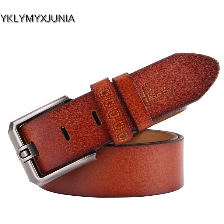 Mens Belt Ceinture Cuir Homme Luxury Leather Belt Men Cowskin Leather Belt Designer Belts For Men 2017 Fashion Leather waistband