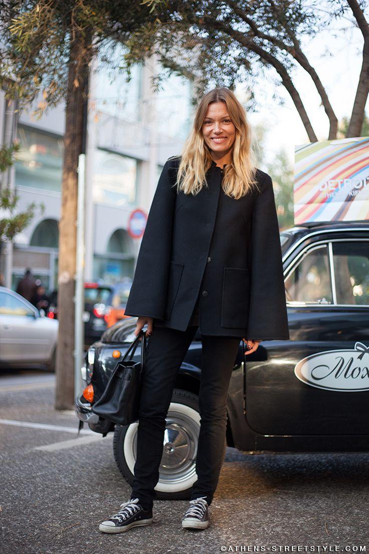 Vicky Kaya - Athens Street Style | ATHENS STREETSTYLE