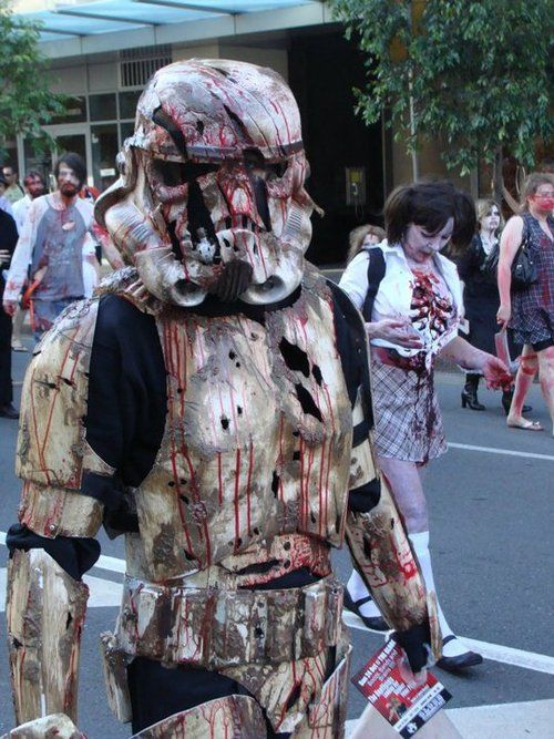 Zombie Stormtrooper -- because this should totally exist.