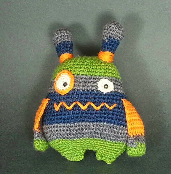 Javier The Monster Hunter By Jaime George - Free Crochet Pattern - (ravelry)