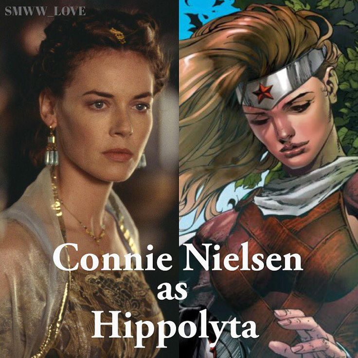 Connie Nielsen is Hippolyta