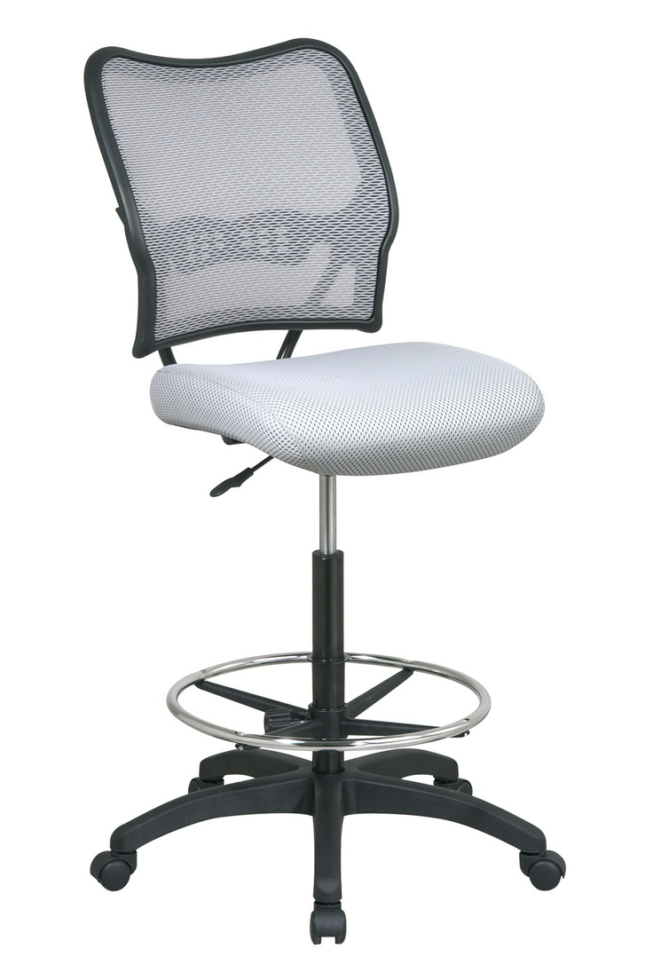 Office Star Shadow AirGrid Back Drafting Chair18 best Office Chairs images on Pinterest   Drafting chair  Office  . Office Star Height Adjustable Drafting Chair With Footring. Home Design Ideas