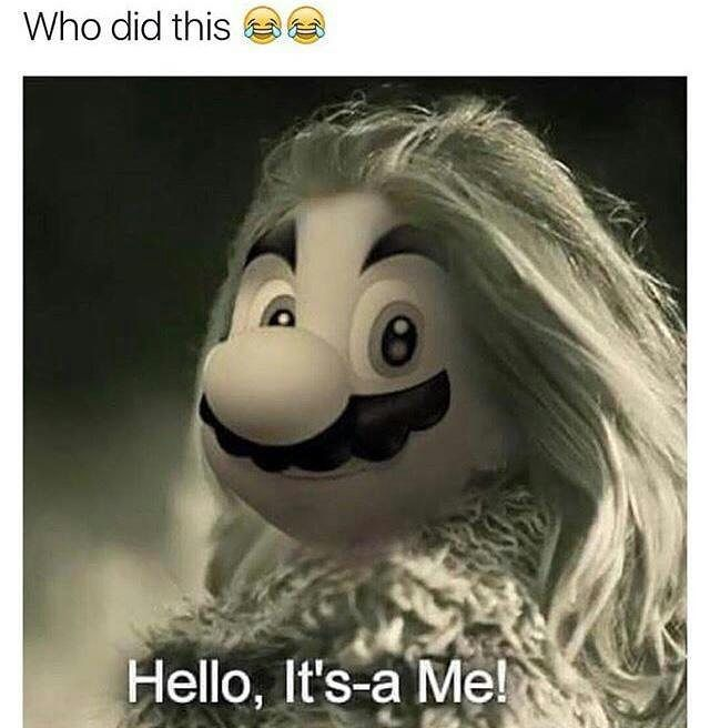 HELLO ITS A ME I XD