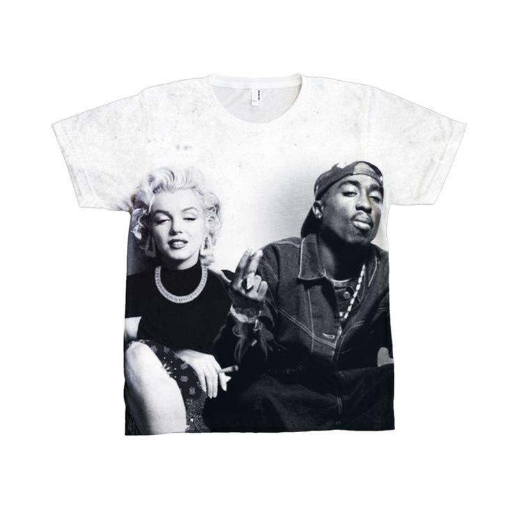 Marilyn & Tupac T-shirt – Defallins Boutique