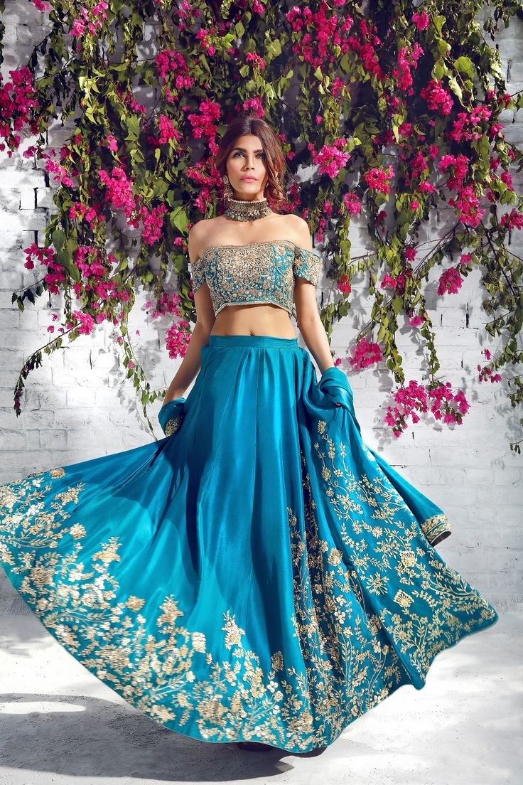 ...Why not? For that 'confident modern bridal'. Change the color & fabric to fit the wedding theme. Let us help you achieve this for that ultimate bridal look.