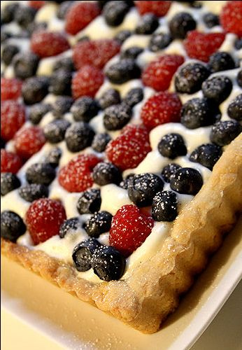 Crostata Di Frutta (Italian Fruit and Custard Tart)