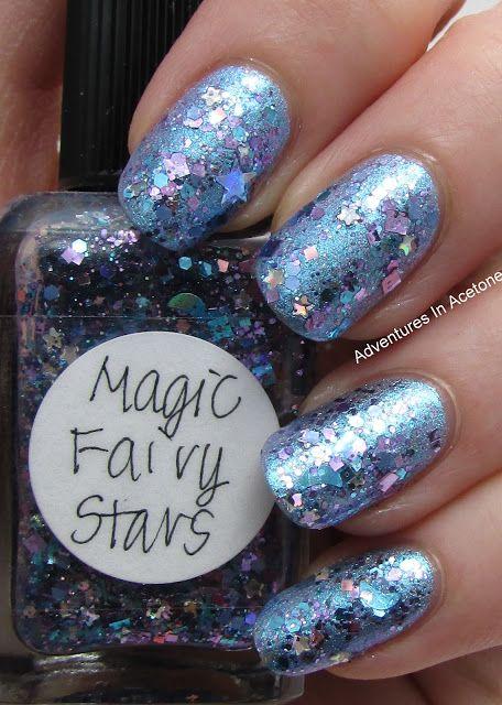 Fairy Princess Glitter Layering!