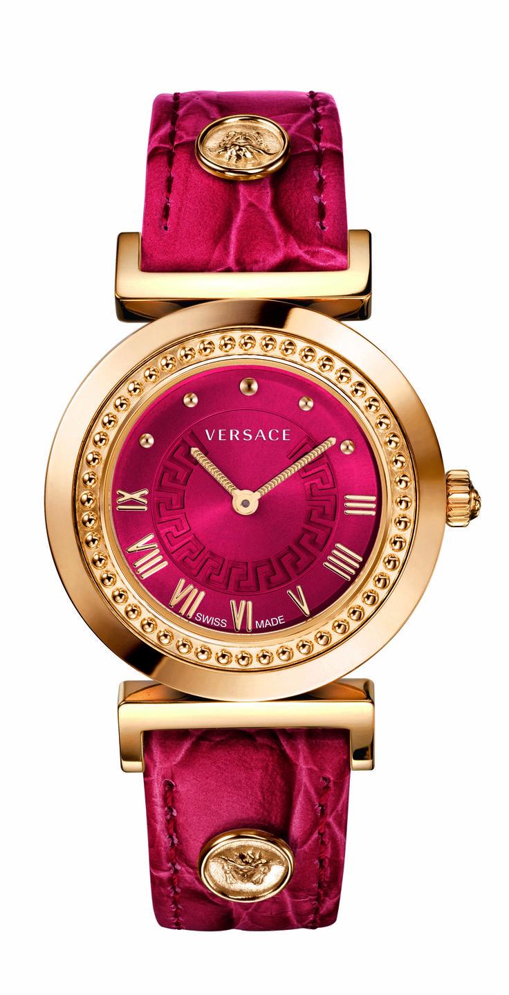 The Versace Vanity Watch. #VersaceWatches #Versace