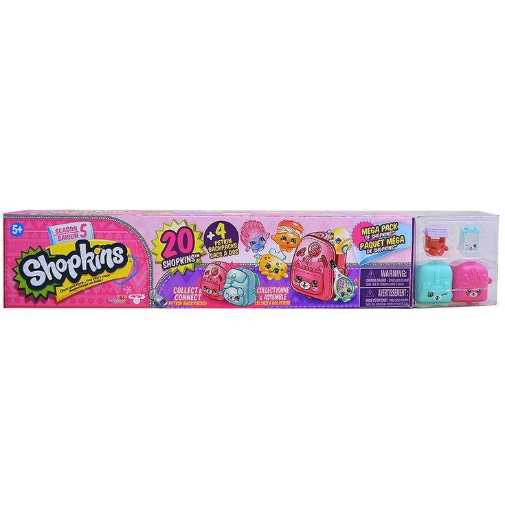 Shopkins Mega Pack Season 5 [Set of 20 Shopkins]