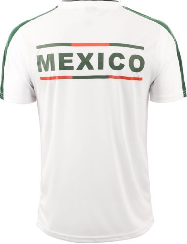 Mexico-Soccer-Jersey-2018-World-Cup-uniform-Football-team-Player-White-Green -Men  b2f836628