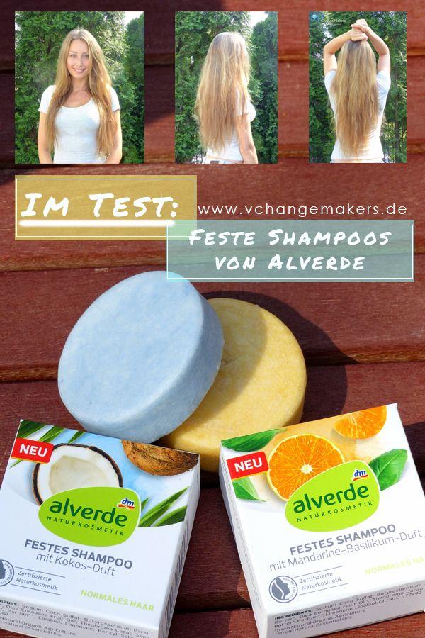 Test: Festes Shampoo von dm – Kokos und Mandarine Basilikum Duft