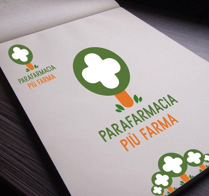 Parafarmacia Più Farma (VT) facebook.com/parafarmacia.piufarma #logo #design