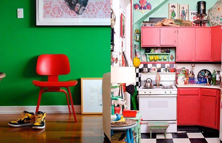 5 combinações de cores inesperadas que podem ficar lindas na sua casa! - Casa e Cozinha