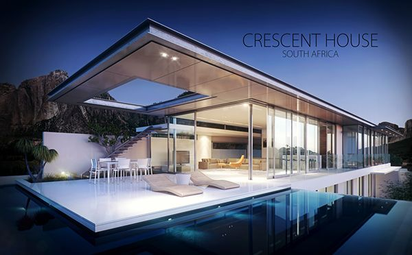 Crescent House on Behance