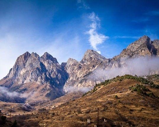 Кавказские горы, Республика Ингушетия.   Фотографии ...