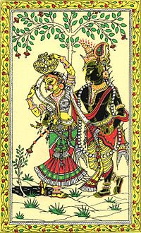 Pattachitra is a general term for traditional scroll painting in India,especially in Odisha and West Bengal.[citation needed] The Sanskrit pata means cloth, chitra means painting.